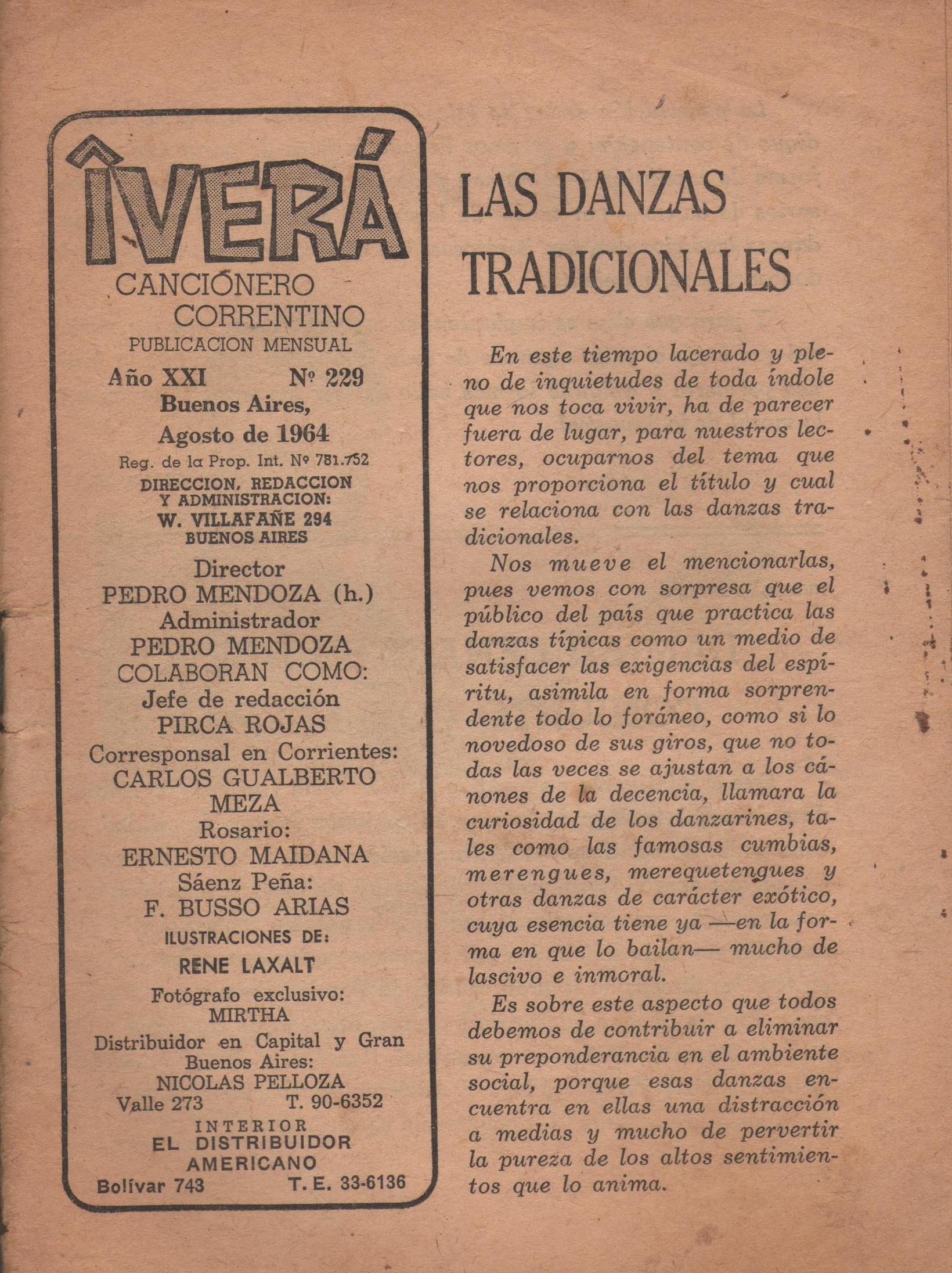 Nº 229 - Agosto de 1964